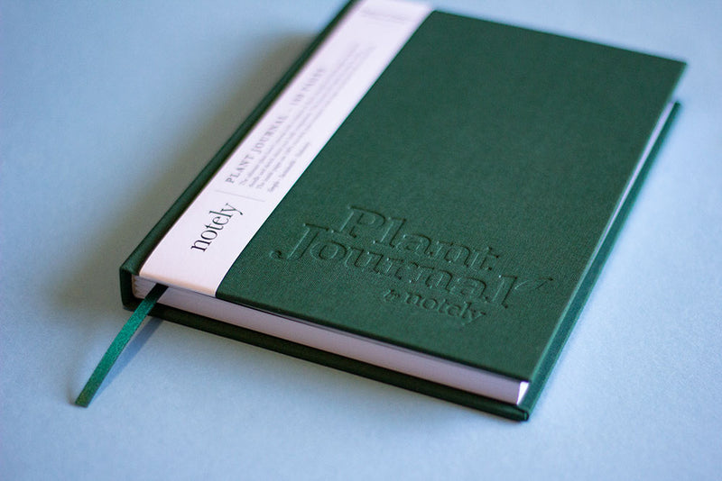 Plant Journal 160 Page - Forest Green