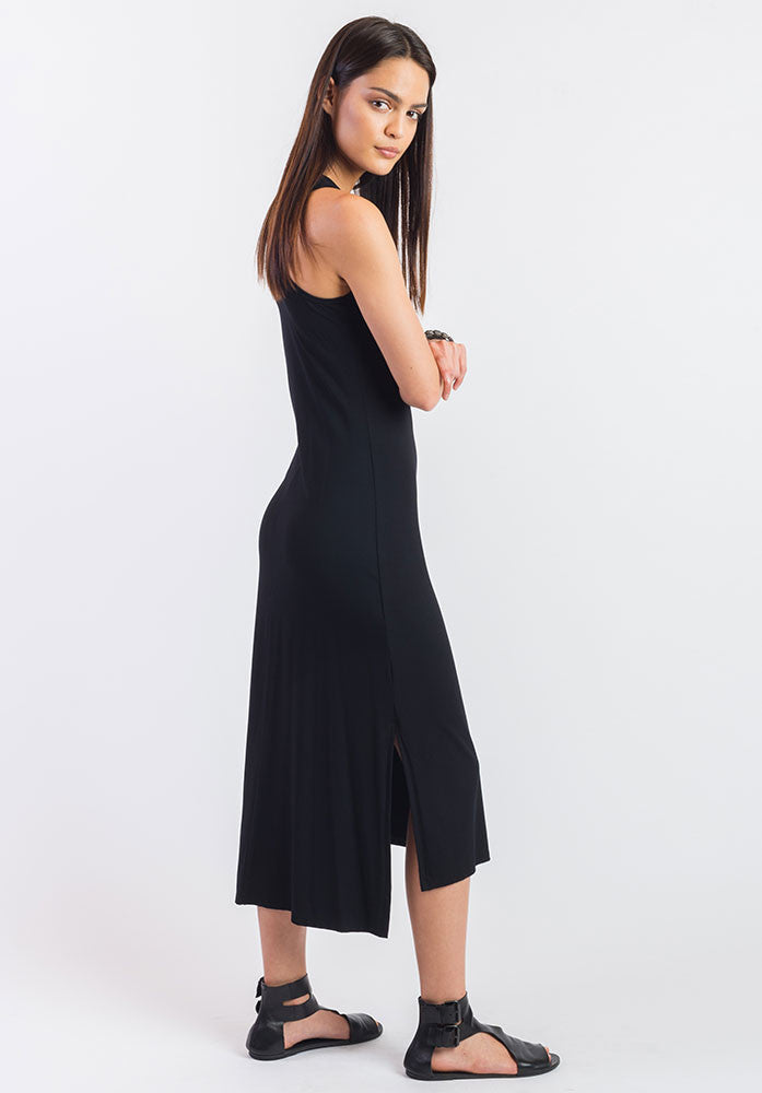 Obsidian dress black | 100% Australian Made | Ethical Eco Fashion