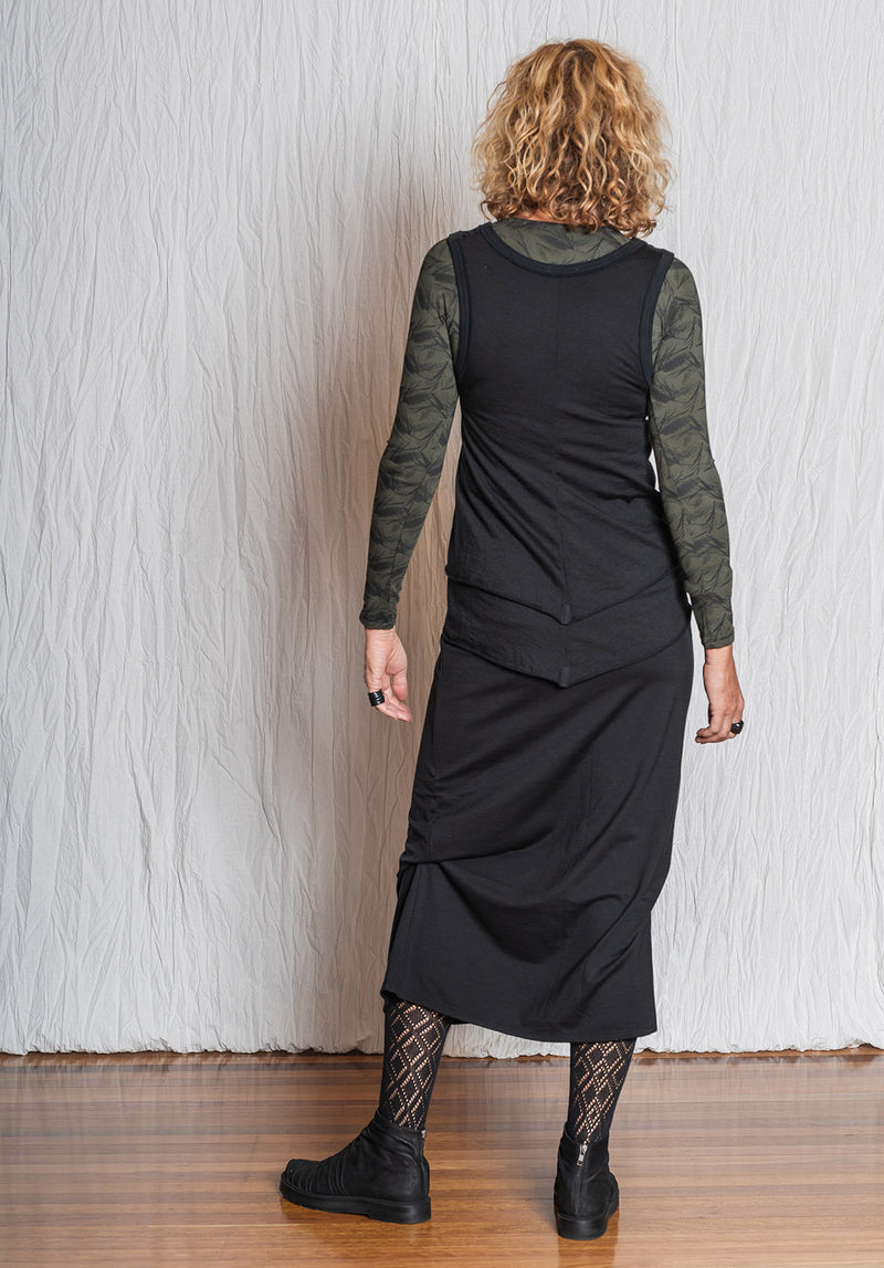 ethical merino wool, wool clothes online, womens wool tops, top vests womens, wool tops online, australian fashion designer