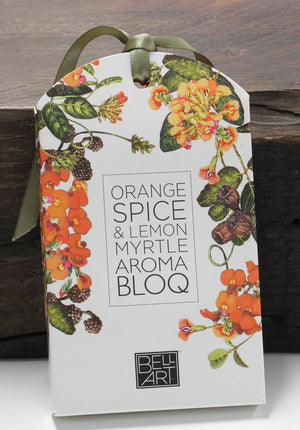 Orange Spice and Lemon Myrtle - Aroma Bloq