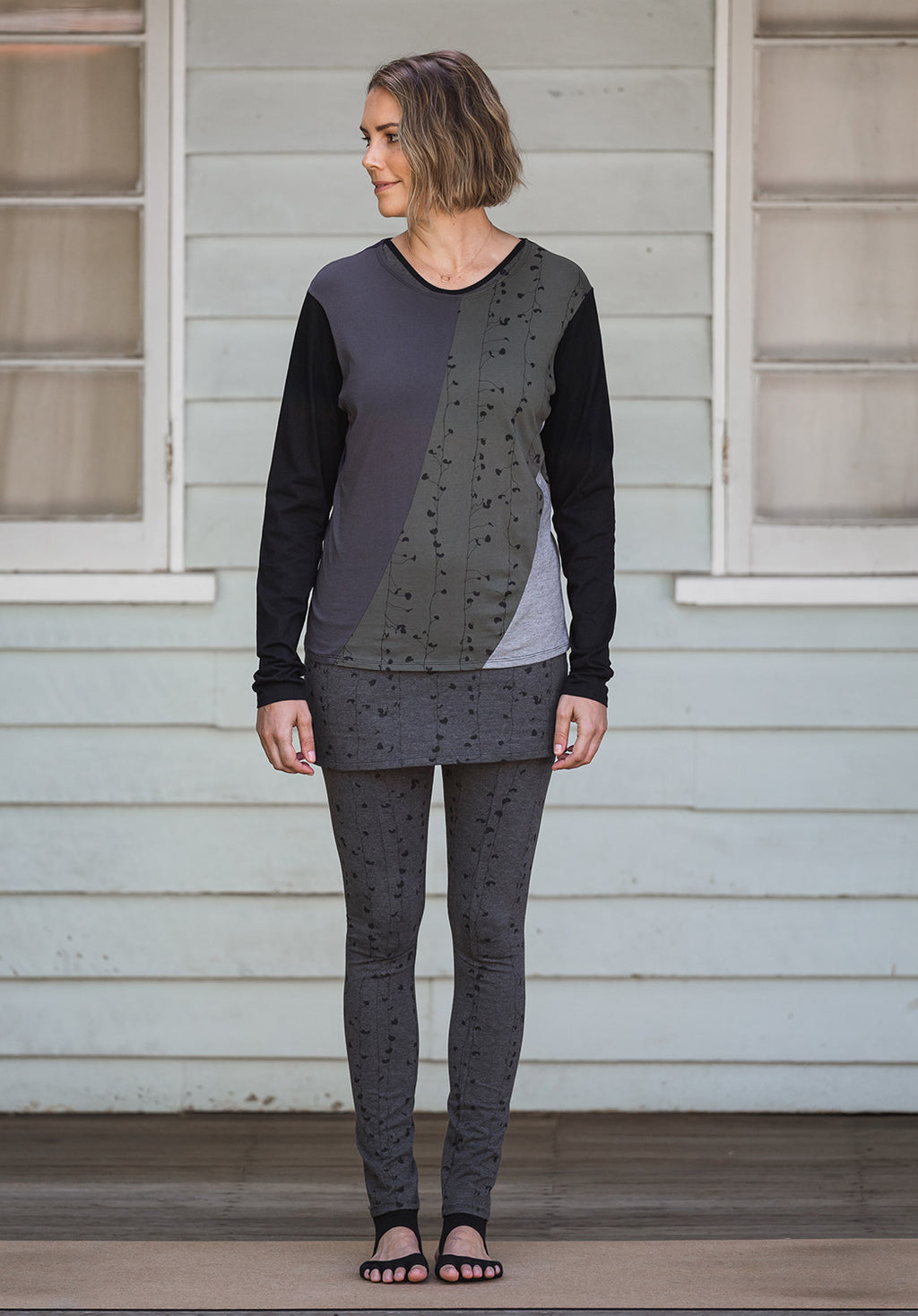 printed tops australian made, women clothing australia, womenswear australia, boutique sportswear online, cotton fashion australia,