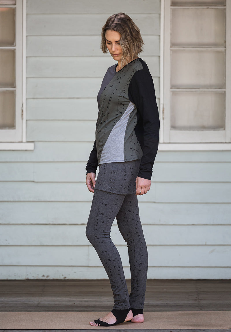 ethical fashion australia, womens printed tops, printed tunics, australian made womens tunics, womens fashion over 40s, well made clothes, well made clothing