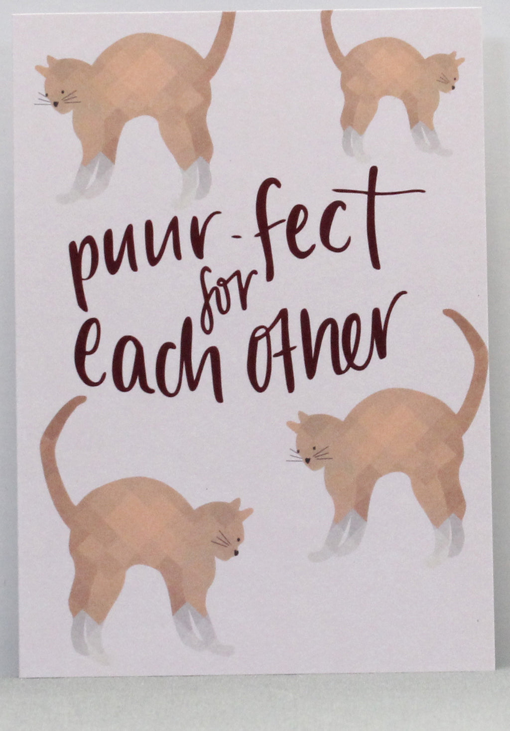 Puur-fect For Each Other Greeting Card