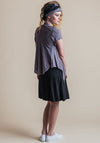 Quirk shrug dove short sleeve