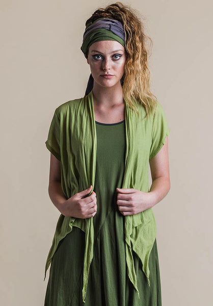 Quirk shrug wasabi short sleeve