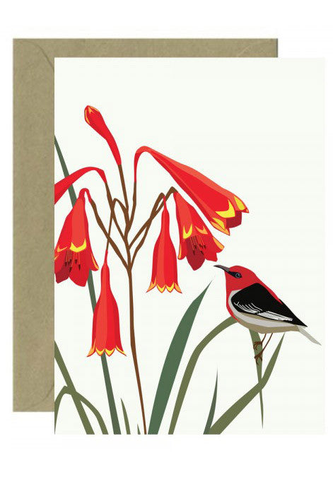 Honeyeater Bell card