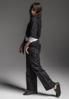Samira pant black japanese cotton