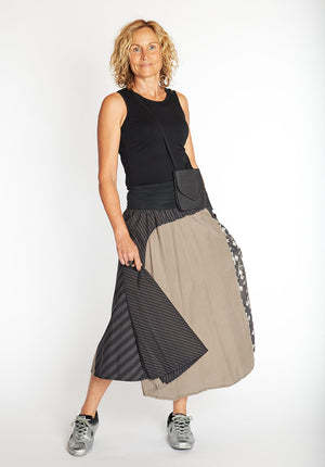 sustainable fashion online, shop australian made fashion, ethical fashion online, tencel cotton skirts online, australian made skirts