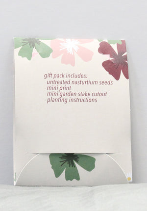 Sow Awesome - Nasturtium Seed Gift Pack