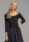 Swivel top black
