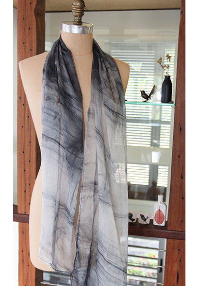 Pure Silk scarf (infusion print)
