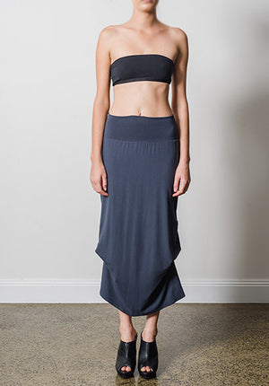 Thea skirt charcoal | 100% Made in Australia | Ethical Fashion
