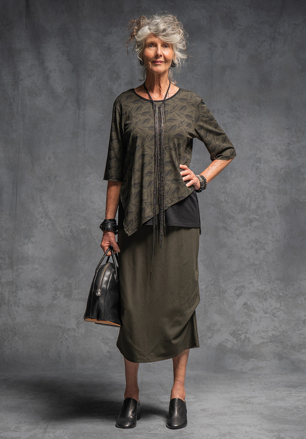 Thea skirt olive