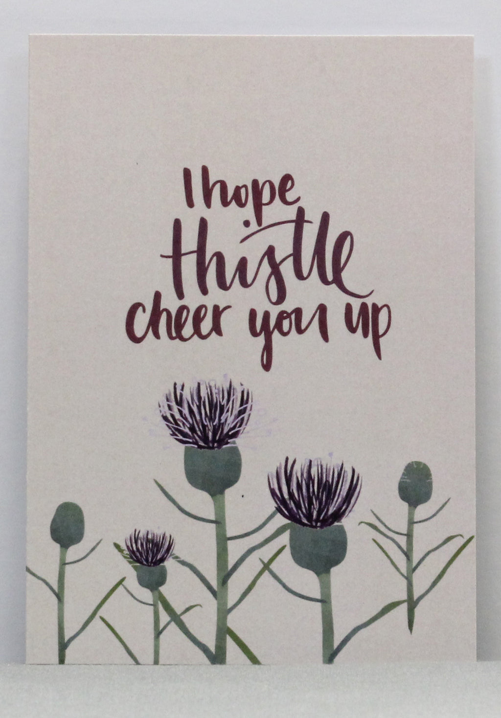 Thistle Cheer You Up Greeting Card