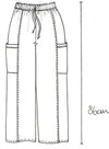 fashion sketch, technical fashion sketch, sustainable fashion blog, sustainable fashion journal