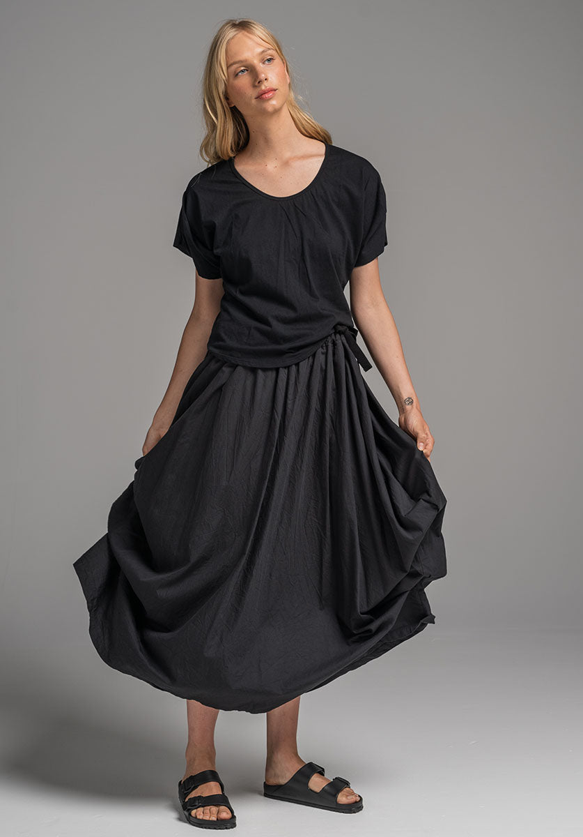 Willow skirt black