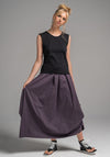 Willow skirt purple stripe