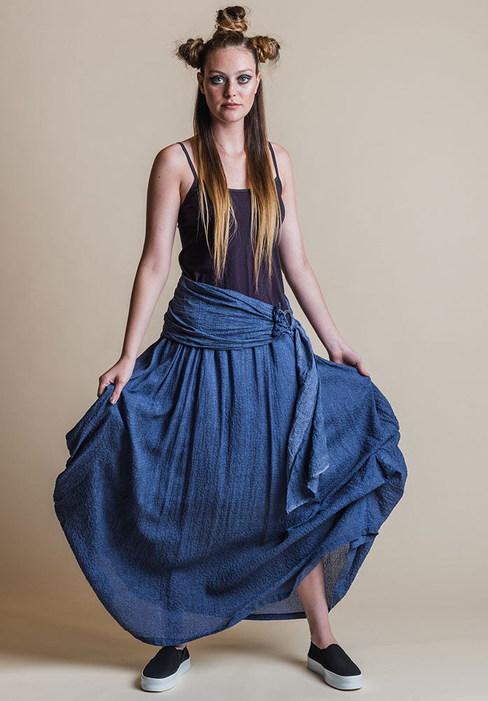 Willow skirt blue