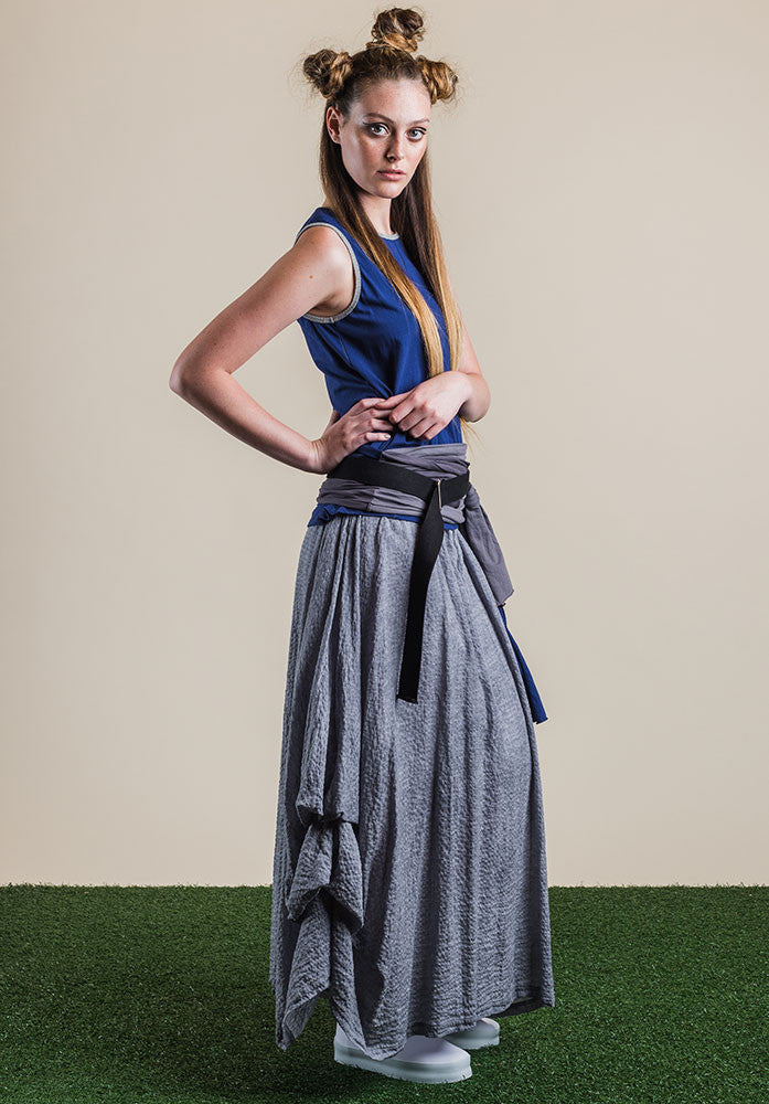 Willow skirt silver