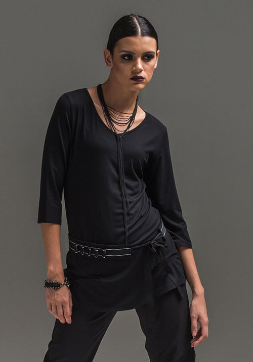 Viv 3/4 top black