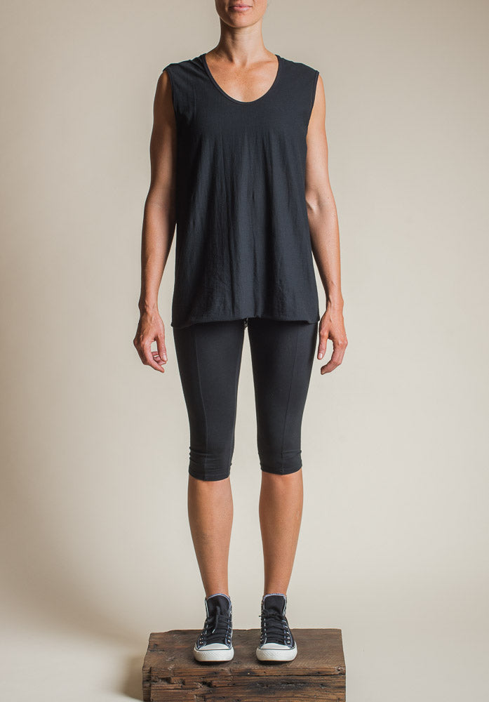 Slant top black