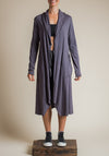 ethical clothing, eco friendly, eco chic, ethical fashion, cotton coat, long coat
