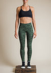 fern print, cotton legging, vegan fashion, eco chic, eco fashion, ethical clothing