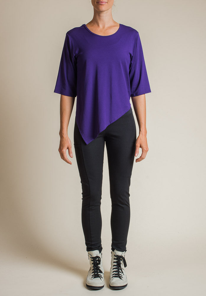 Dana top purple | Australian Made Bamboo Clothing
