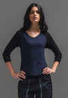Clover shrug black | Sustainable Clothing | Bamboo Jersey