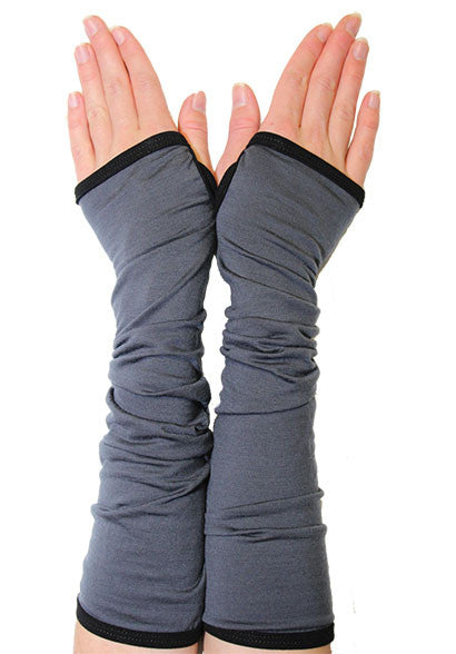 Merino Cosy Arms charcoal