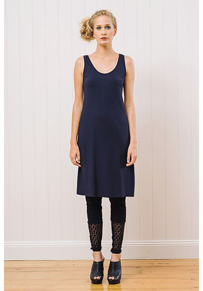 Greta slip ink | Bamboo Jersey | Ethical and Sustainable Fashion