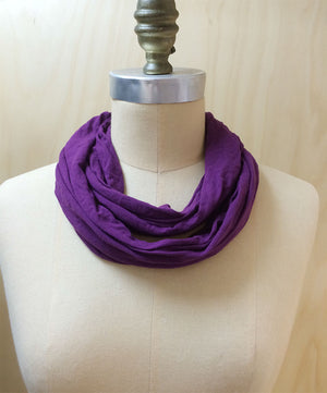 Loopy scarf amulet