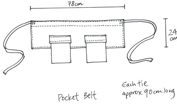 Pocket belt mineral