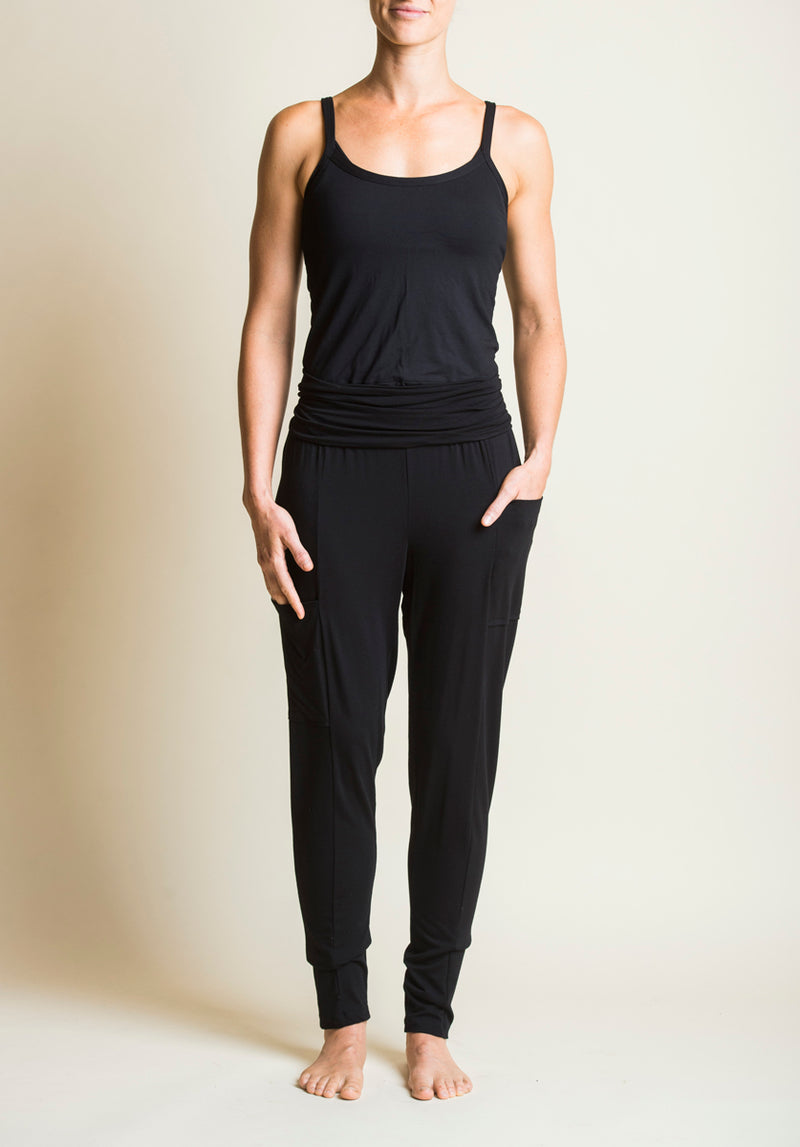 Nellie pant black | Eco-Friendly and Sustainable | Bamboo Fashion