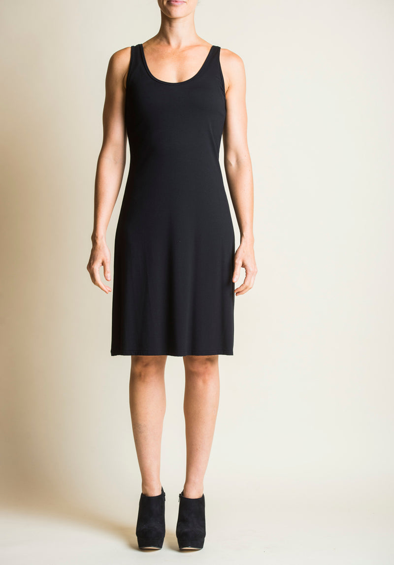 Greta slip black | Ethical Bamboo Clothing | 100% Australian Made