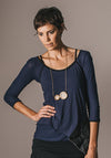 Swivel top indigo