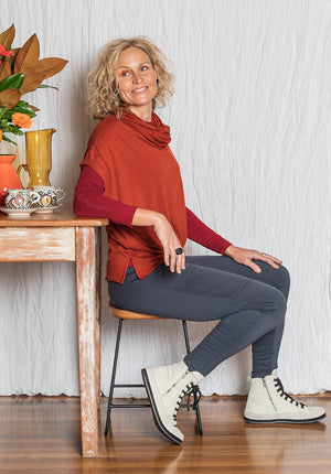 ethical fashion online, sustainable fashion australia, australian fashion designer, womens tops online, womens wool tops online,