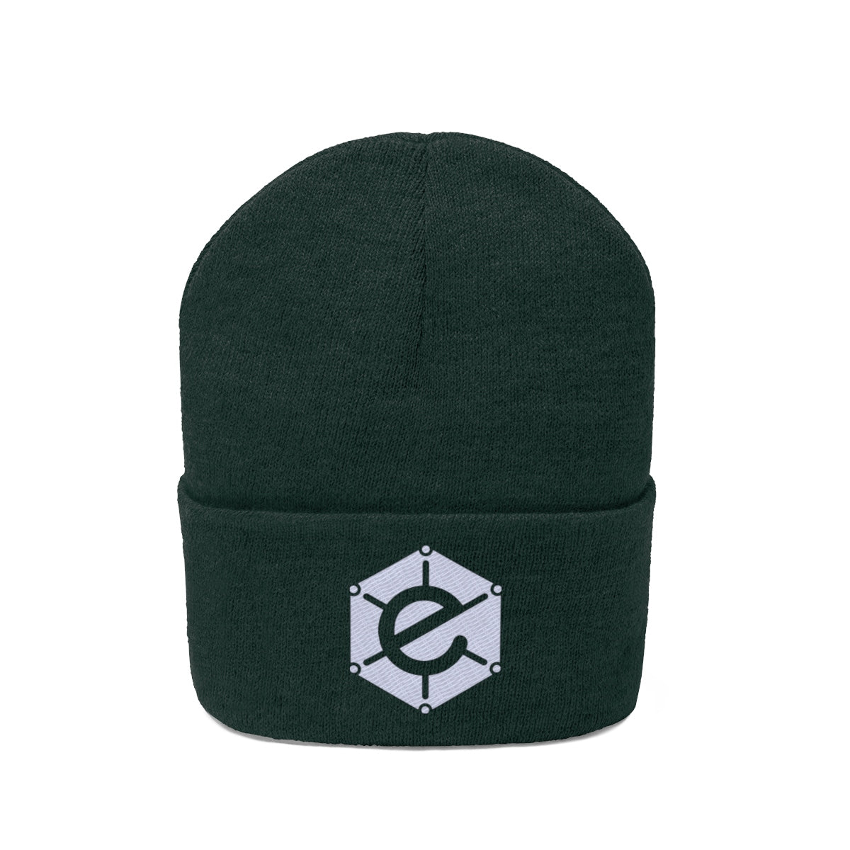 Electra Beanie with White Logo