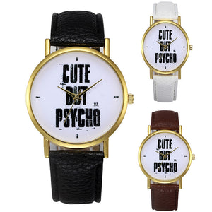 Cute But Psycho wrist watch