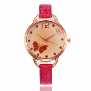 Butterfly wrist watch