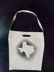 Home is Where the Heart is Texas Tote