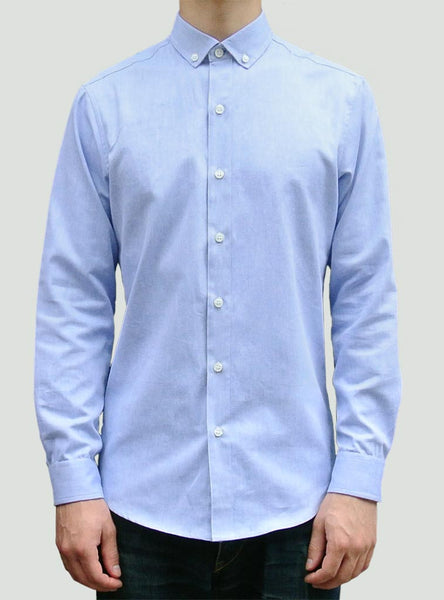 Shirting by The Sock Hop - Blue Oxford