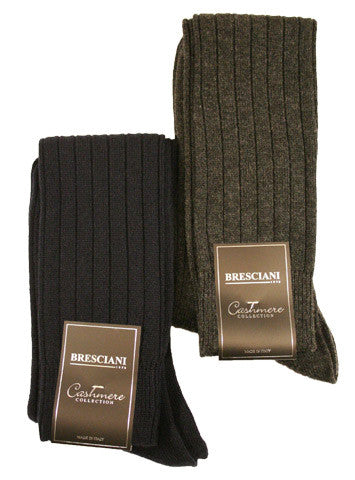 Bresciani Cashmere Over the Calf - Men's