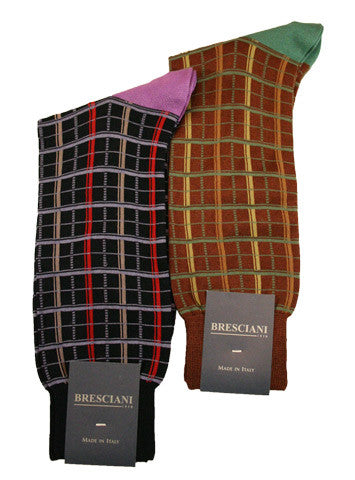 Bresciani Check Check - Men's