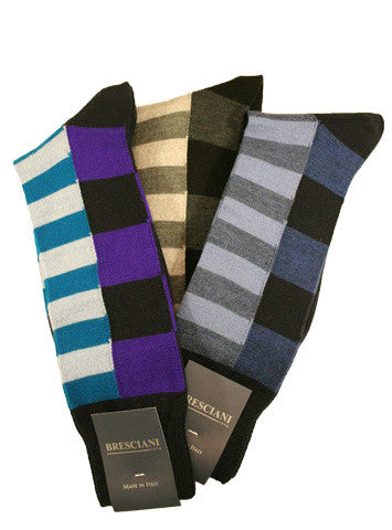 Bresciani Wool Geometry - Men's