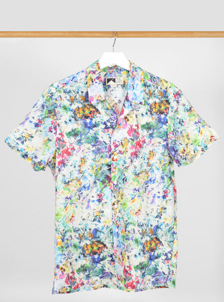 The Hop - Paloma Short Sleeve Men's Shirt - Light Blue