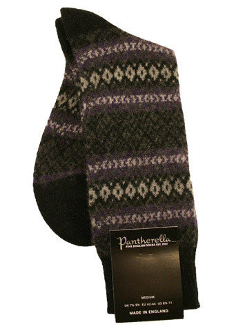 Pantherella Fair Aisle Cashmere - Men's