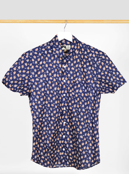 The Hop - Sazerac Short Sleeve Navy