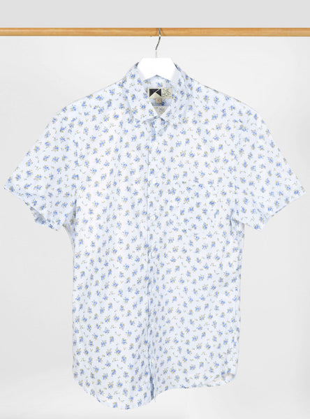 The Hop - Sazerac Short Sleeve Light Blue