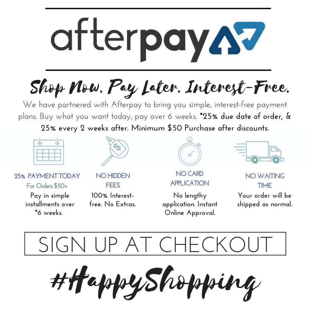 Afterpay – Ooh La Luxe